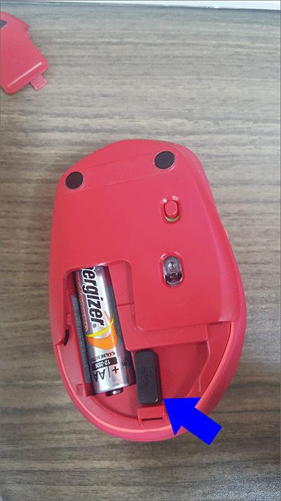 로지텍 M590 유니파잉 리시버 설치법 1