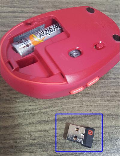 로지텍 M590 유니파잉 리시버 설치법 2