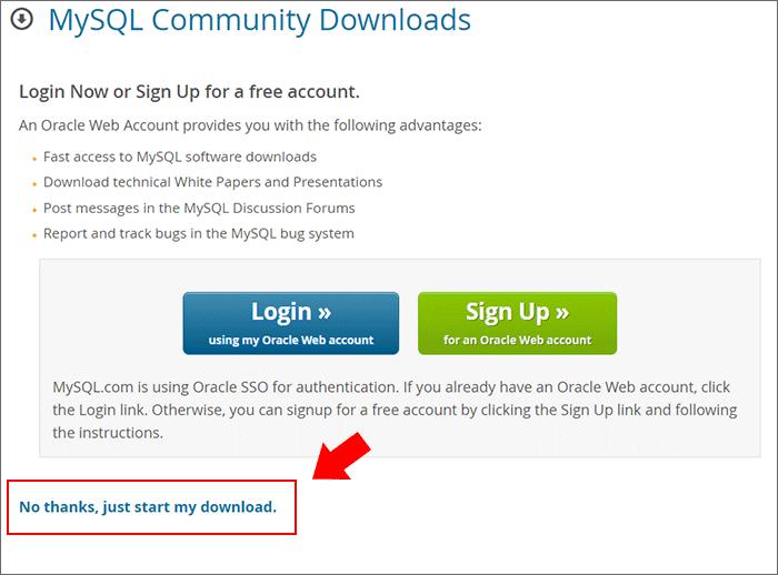 MySQL Workbench 설치 5