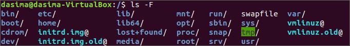 linux F