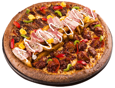 59쌀 피자 불고기피자 1