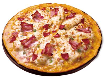 오구쌀피자 베이컨 포테이포 피자 1