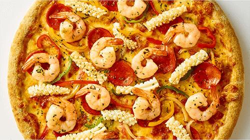 7번가피자 쉬림프 피자 1