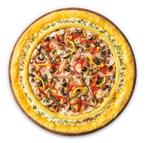 피자헛 슈퍼슈프림 피자 1