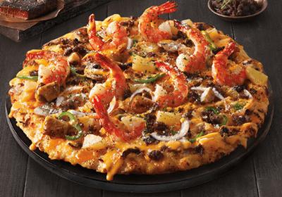 도미노피자 쉬림프 피자 1