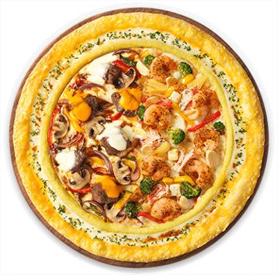 쉬림프 피자 피자헛 1