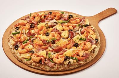 피자마루 쉬림프 피자 1
