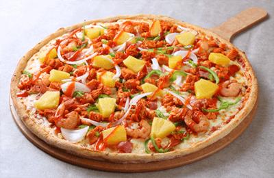 청년피자 쉬림프 피자 1