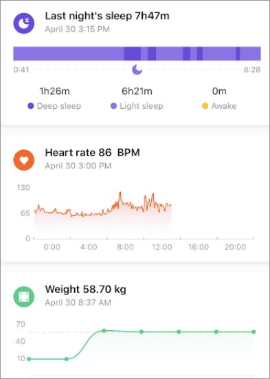 샤오미 미핏 런닝 앱 1