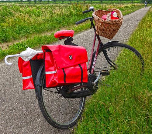 오토바이 배달가방 로고 1